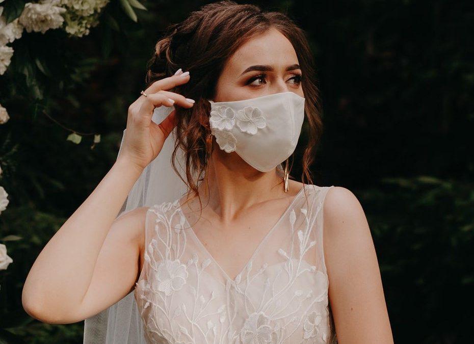 Trucco sposa 2021: il make-up perfetto per la sposa con la mascherina